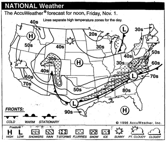 GeoLab1 Mr Peinerts Social Studies Site – Reading a Weather Map Worksheet