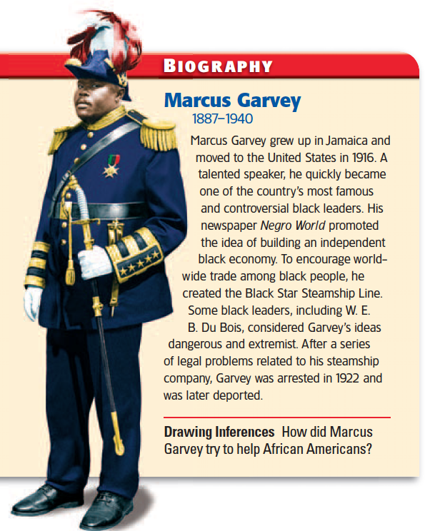 a biography of marcus garvey and his theories